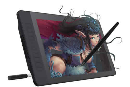 tableta digital con pantalla